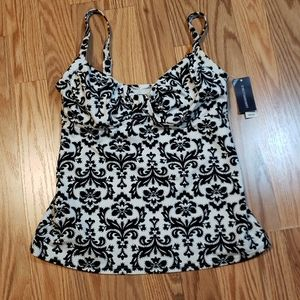 New! Sz 2 Lands' End Tanking Top
